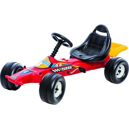Kart cu pedale si volan pentru copii F1 Dohany