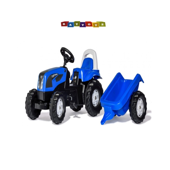 Tractor Cu Pedale Si Remorca Rolly Toys Landini
