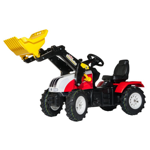 Tractor cu pedale si cupa Rolly Toys STEYR