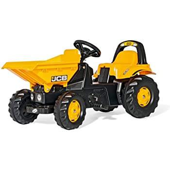 Tractor cu pedale si cupa RollyToys JCB