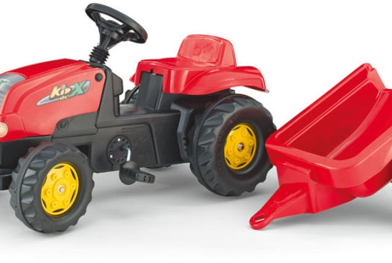 Tractor cu pedale si remorca Rolly Toys Kids