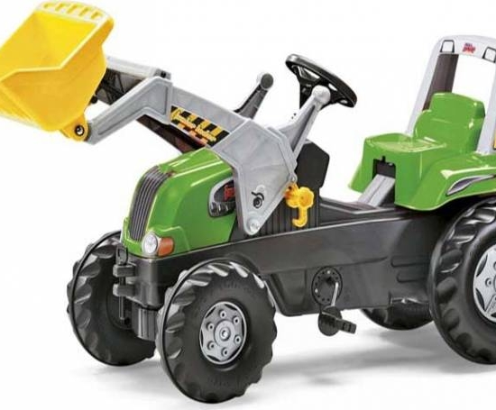 Tractor Cu Pedale Copii ROLLY TOYS 812004 Verde