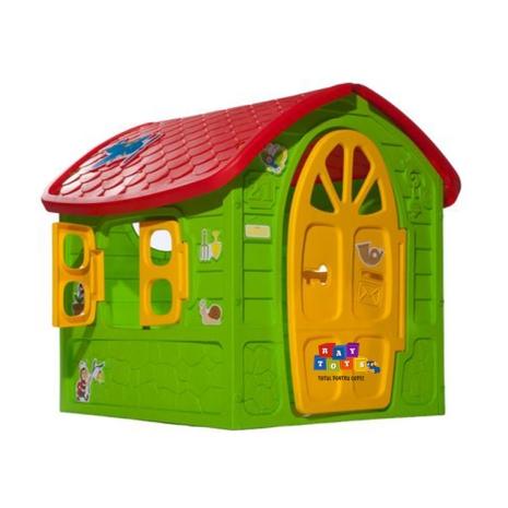 Casa de joaca cu geam si usa pentru copii Dohany