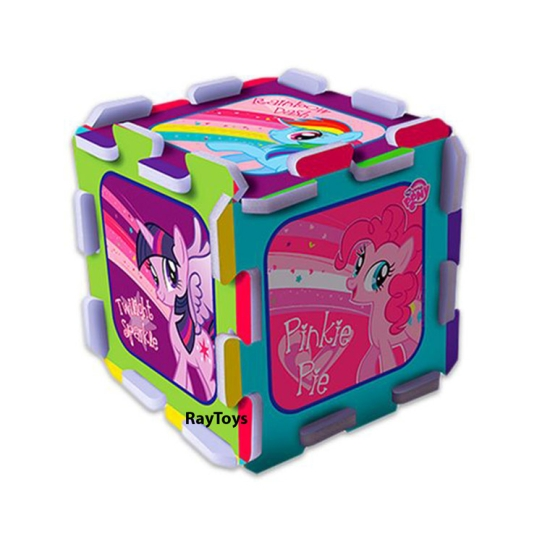 Covor Puzzle burete My Little Pony