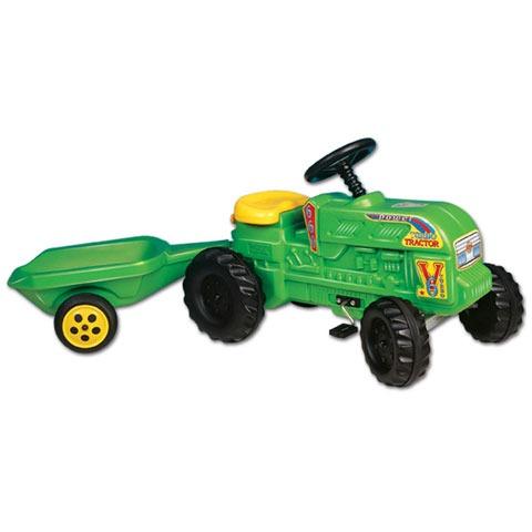 Tractor fermier cu remorca Dohany Toys