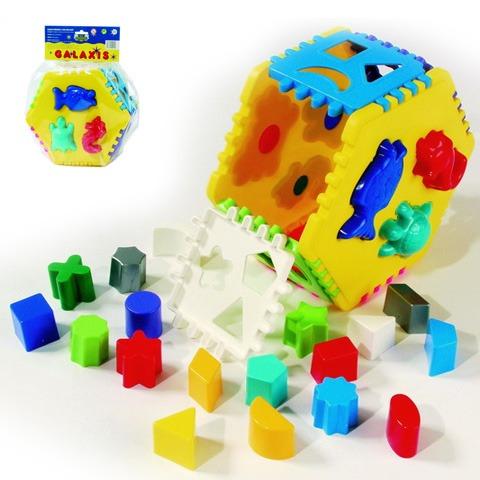 Cub cu forme geometrice hexagon Dohany