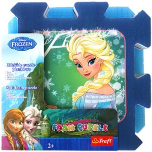 Covor Puzzle burete imagini Frozen Trefl