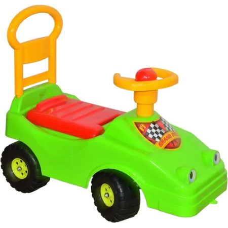 Masina de curse Baby Taxi cu volan si claxon Dohany