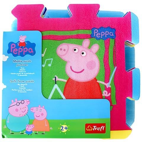 Covor copii Puzzle burete Purcelusa Peppa Trefl