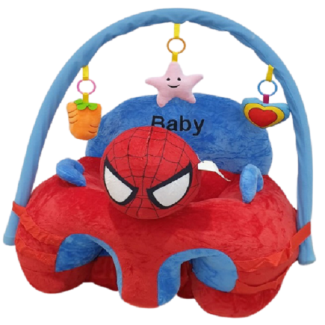Fotoliu plus Spiderman sit up cu arcada bebe