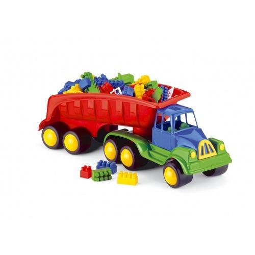 Camion cu cuburi lego 70 cm Hemar