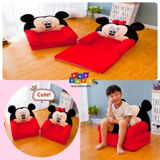 Fotoliu-extensibil-Mickey-si-Minnie-Mouse