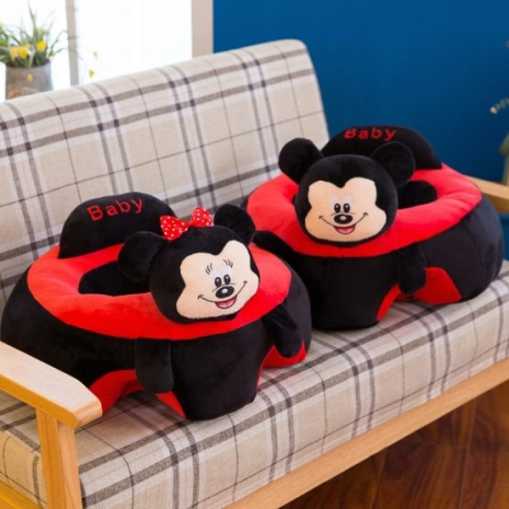 Fotoliu bebe Mickey Minnie Sit Up Mare