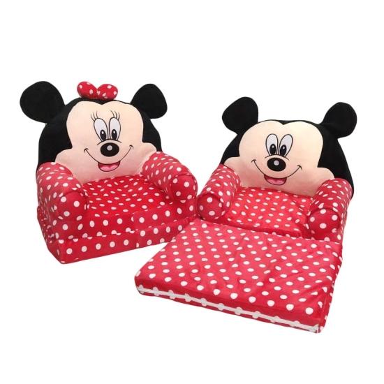 Fotoliu copii extensibil Minnie Mouse