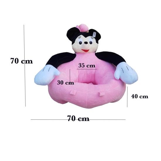 Fotoliu din plush Mickey Minnnie Mouse Large Sit Up