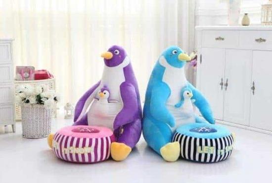 Fotoliu plus cu taburet detasabil Pinguin
