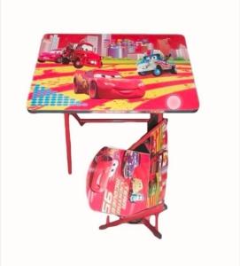 Set masuta cu scaun pliabila copii Cars Birou MDF
