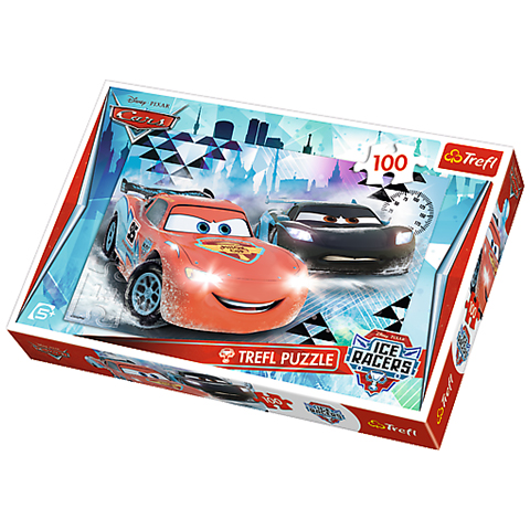 Puzzle Trefl 100 pcs Cars Ice Racers