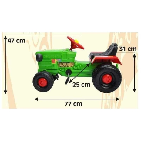 Tractor cu pedale Willy Bj