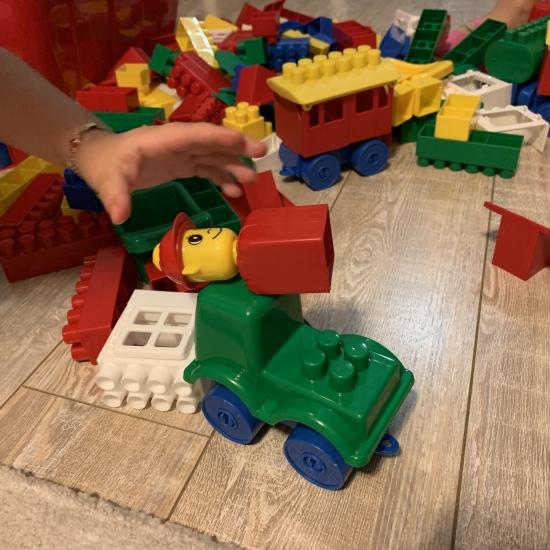 Cuburi constructie lego cutie k2 Hemar 84pc