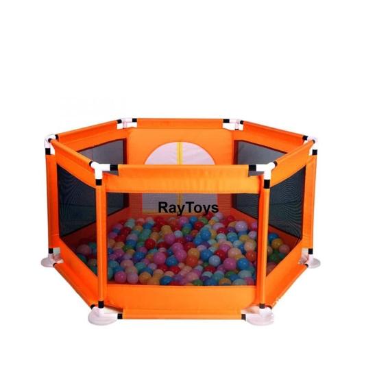 tarc-de-joaca-cu-50-bile-colorate-bebelusi