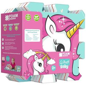 Covor Puzzle burete cu imagini Unicorn Trefl