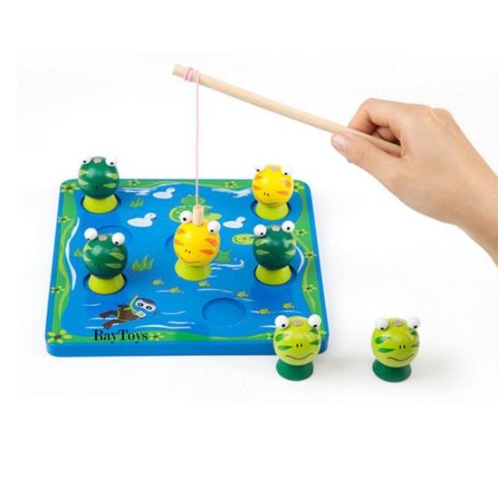 Joc-de-pescuit-magnetic-din-lemn-cu-broasca-3D2