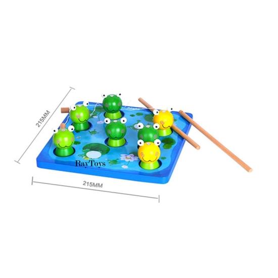 Joc-de-pescuit-magnetic-din-lemn-cu-broasca-3D3