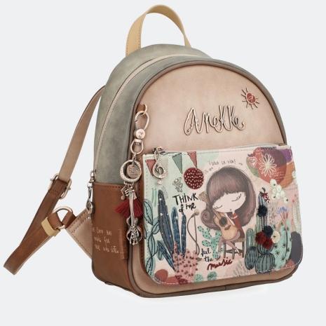 Rucsac geanta Ixchel cu buzunar frontal Aneke