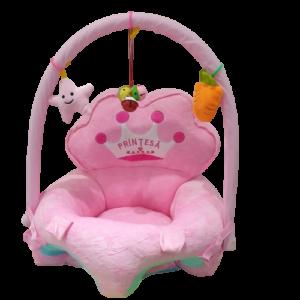 Fotoliu-plus-sit-up-arcada-accesorii-Printesa-roz-