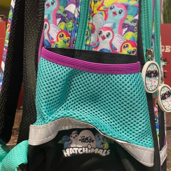 Ghiozdan rucsac scoala Hatchimals copii cu 3 compartimente