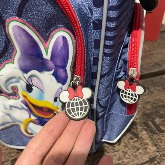 Ghiozdan rucsac scoala copii Minnie Mouse compartimentat