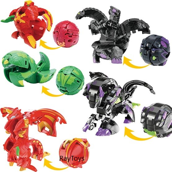 Jucarie Dragon Bakugan Battle Planet Brawlers Transformer