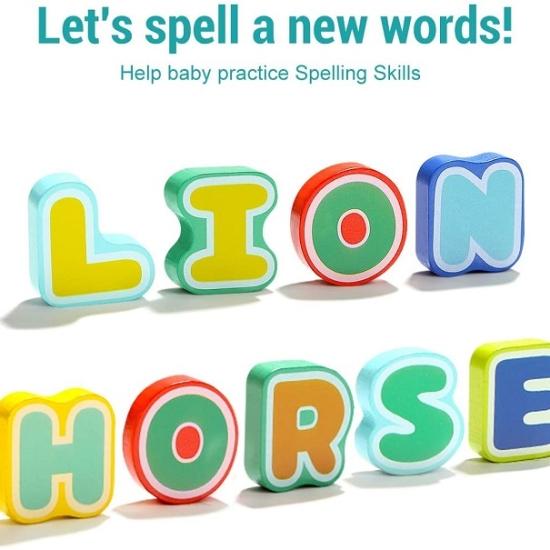 Puzzle alfabet piese mari cu animale 26 litere TOPBRIGHT