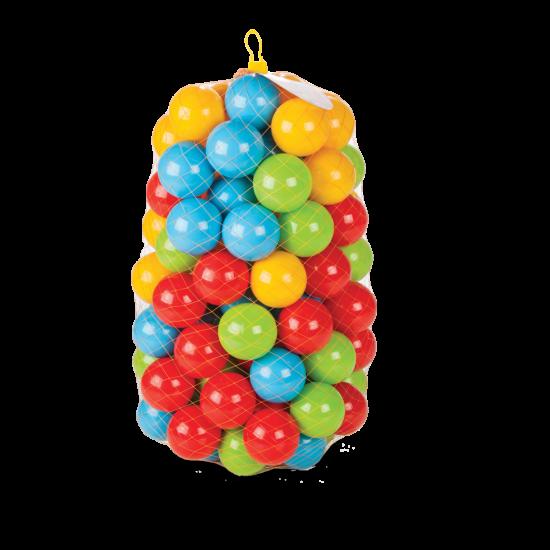 Bile colorate copii 100set 9cm la saculet Pilsan