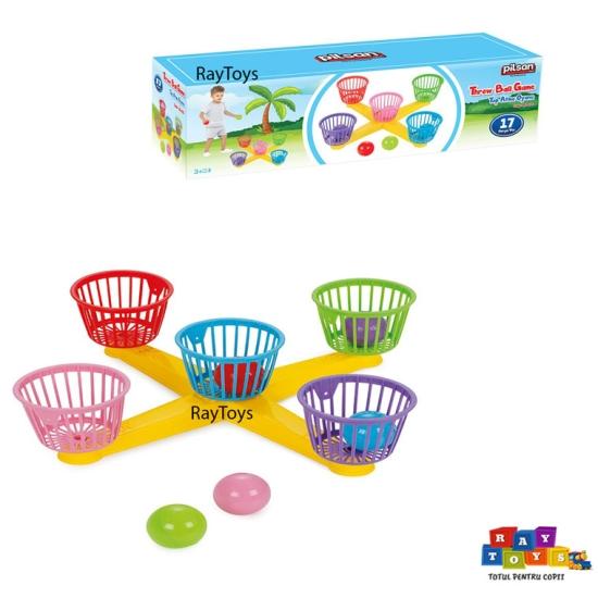 Joc-de-interactiune-copii-Aruncarea-mingii-Pilsan