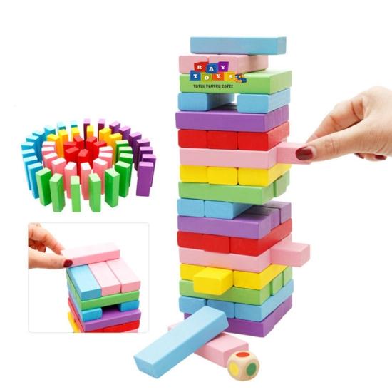 Joc-educativ-copii-Blocul-din-lemn-Colorat-54pc1