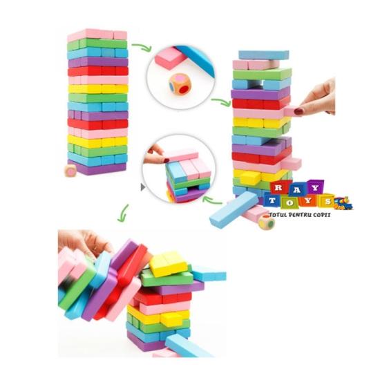 Joc-educativ-copii-Blocul-din-lemn-Colorat-54pc4
