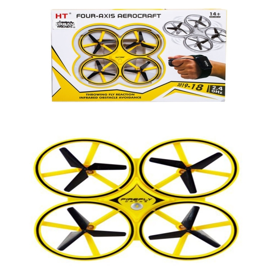 Jucarie-RC-Drona-cu-telecomanta-tip-ceas-control-mana5