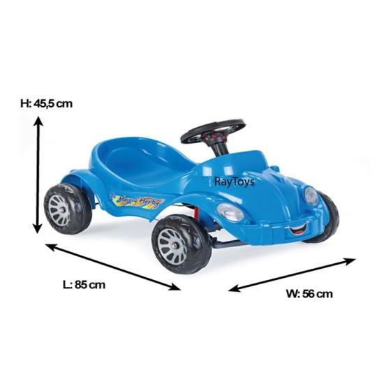 Masina cu pedale si claxon pentru copii Herby Pilsan