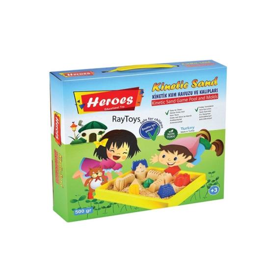 Nisip-Kinetic-500gr-cu-forme-pentru-copii-Heroes