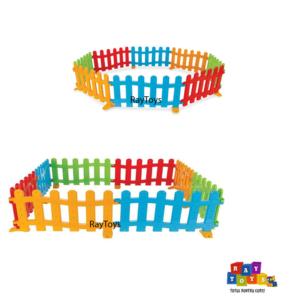 Tarc-de-joaca-bebe-tip-gradina-colorat-Pilsan