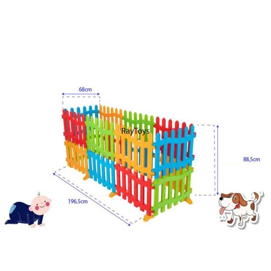 Tarc-de-joaca-bebe-tip-gradina-colorat-Pilsan2