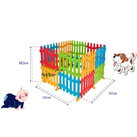 Tarc-de-joaca-bebe-tip-gradina-colorat-Pilsan4