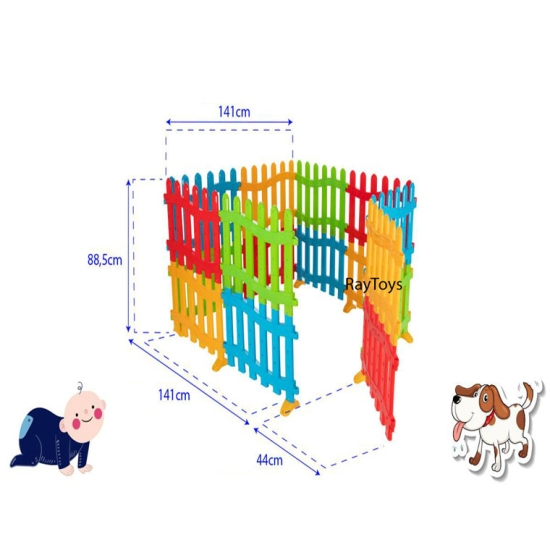 Tarc-de-joaca-bebe-tip-gradina-colorat-Pilsan5