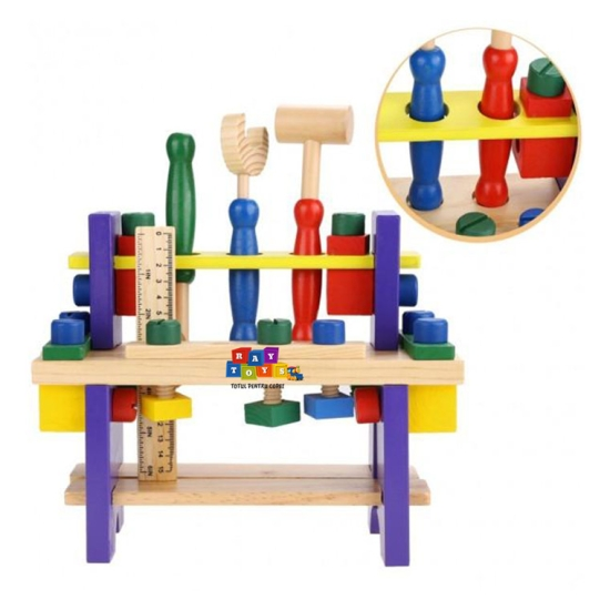 Banc-de-scule-din-lemn-pentru-copii-Asamblare2
