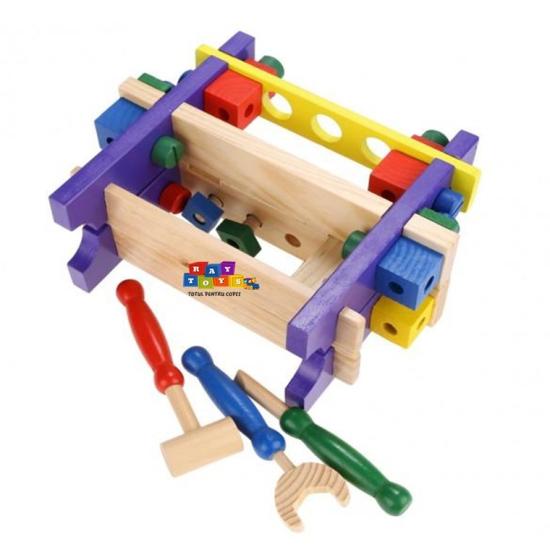 Banc-de-scule-din-lemn-pentru-copii-Asamblare5