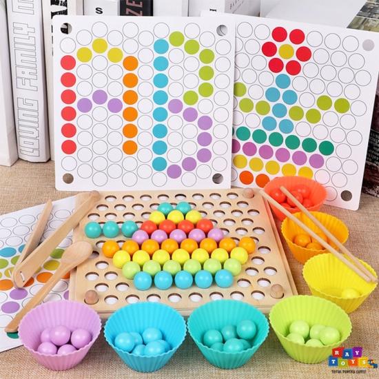 Joc-Montessori-Sortare-din-lemn-pentru-copii-Margele
