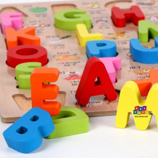 Puzzle-din-lemn-3D-Alfabet-A-Z-cu-imagini1