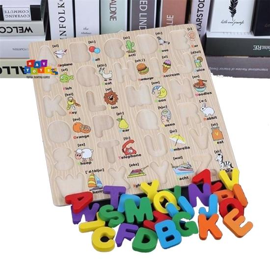 Puzzle-din-lemn-3D-Alfabet-A-Z-cu-imagini2